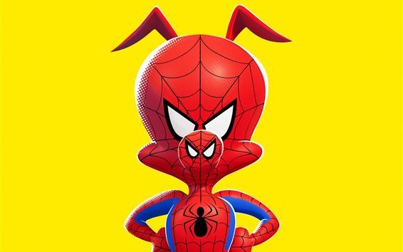 Wallpaper Spider-Man: Into the Spider-Verse 2018
