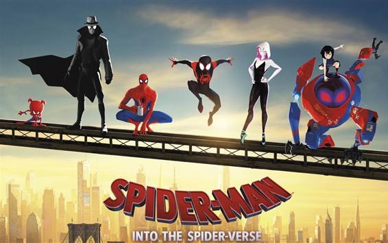 Papéis de Parede Homem-Aranha: no verso da aranha
