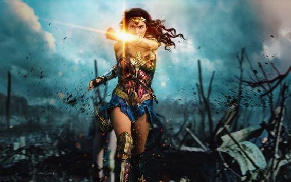 Fondos de pantalla Mujer Maravilla, Diana, DC Comics, Marvel movie