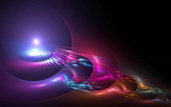 Fondos de pantalla Fondo abstracto, púrpura, luz, resplandor.