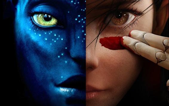 Papéis de Parede Alita: Battle Angel vs Avatar