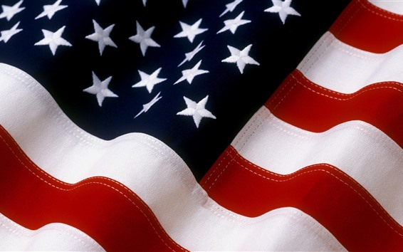 Papéis de Parede Bandeira americana, textura