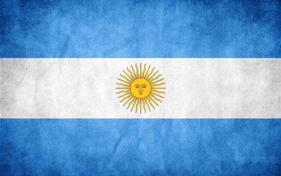 Papéis de Parede Bandeira de Argentina