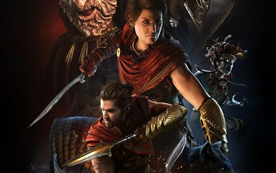 Papéis de Parede Assassin's Creed: Odyssey, jogo de Xbox