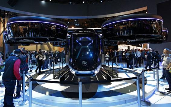 Wallpaper Bell Nexus hybrid air taxi