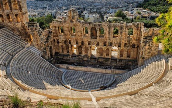 Fondos de pantalla Coliseo, Grecia