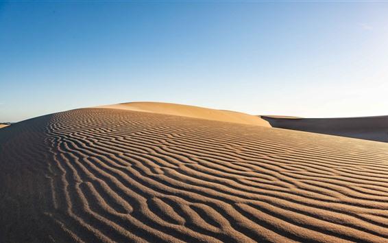 Fondos de pantalla Desierto, árido, arena