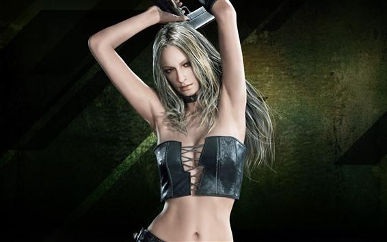 Wallpaper Devil May Cry 5, beautiful blonde girl
