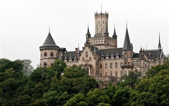 Fondos de pantalla Hannover, Alemania, Castillo de Marienburg