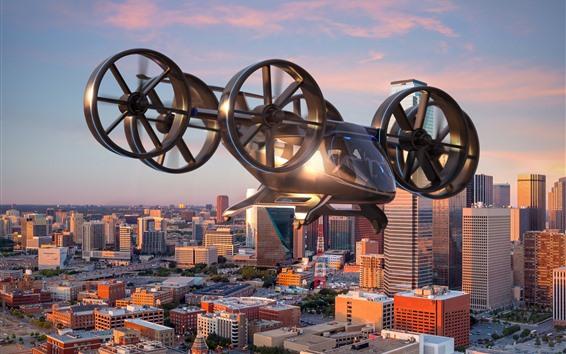 Fondos de pantalla Alta tecnología, taxi aéreo de Bell Nexus