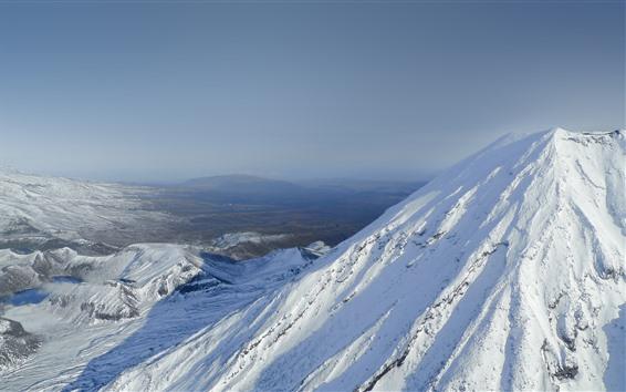 Fondos de pantalla Himalaya, vista superior, nieve