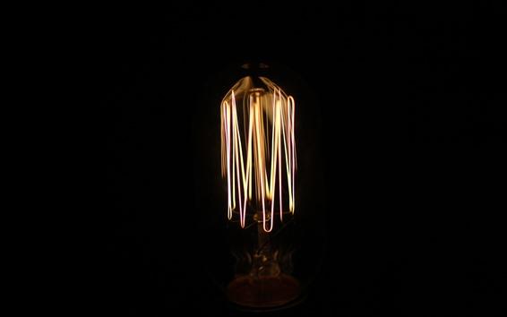 Fondos de pantalla Lámpara, bombilla, oscuridad