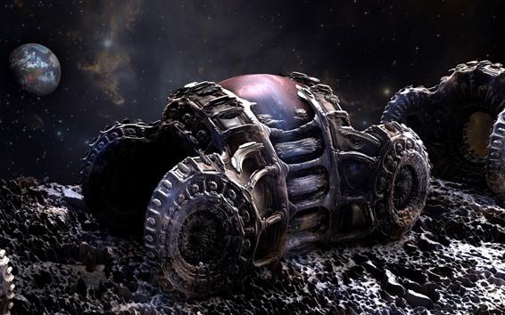 Wallpaper Planet, armor, Sci-Fi picture
