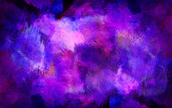 Wallpaper Purple paint, abstract