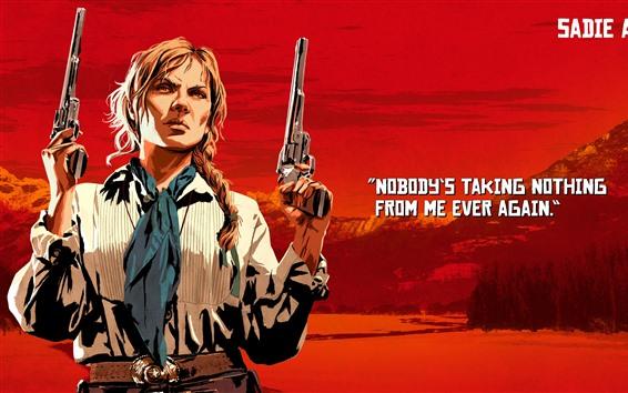 Fondos de pantalla Red Dead Redemption 2, pistolas