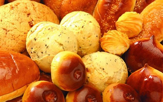 Fondos de pantalla Un poco de pan y galletas