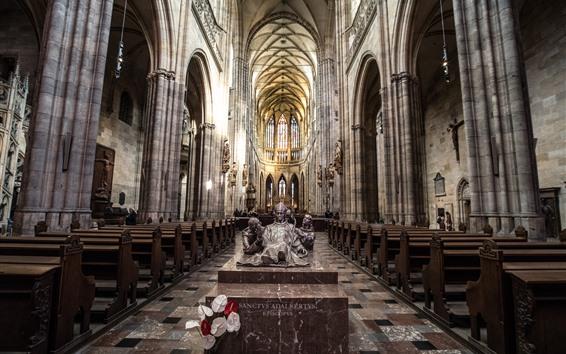Fondos de pantalla Iglesia de San Vito, Praga, República Checa