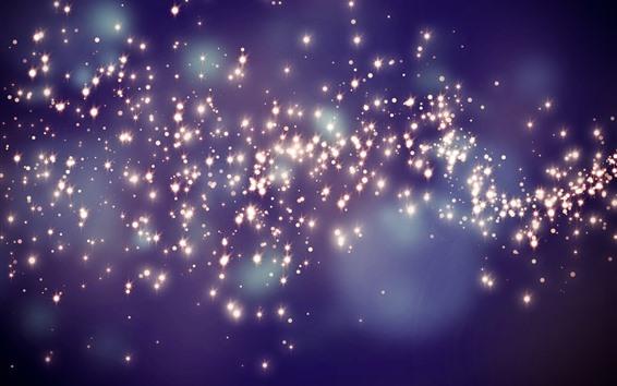Fondos de pantalla Estrellas, brillo, fondo abstracto
