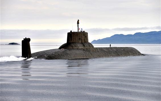 Wallpaper Submarine, Navy, sea