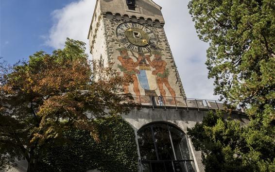Fondos de pantalla Suiza, Lucerna, iglesia