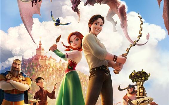 Fondos de pantalla La princesa robada: Ruslan y Ludmila