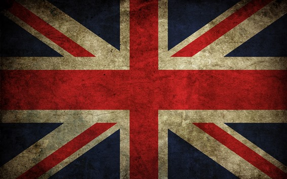 Wallpaper UK flag, texture