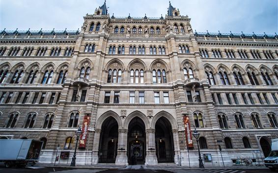 Papéis de Parede Cidade salão de Viena, Áustria