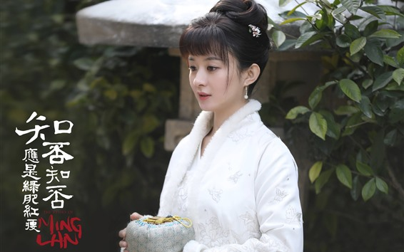 Wallpaper Zhao Liying, The Story Of MingLan, 2019 TV series