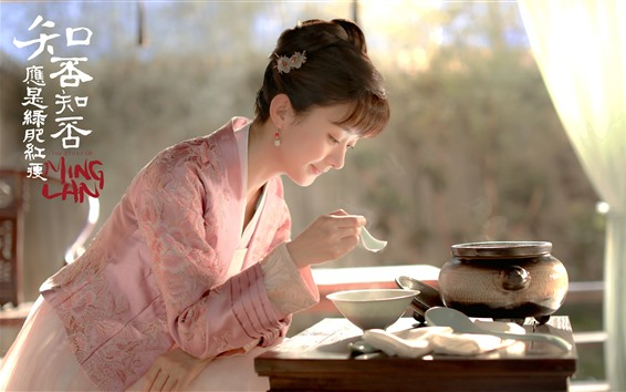 Wallpaper Zhao Liying, The Story Of MingLan