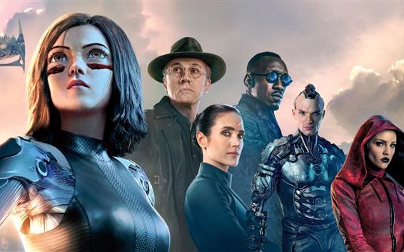 Wallpaper 2019 movie, Alita: Battle Angel