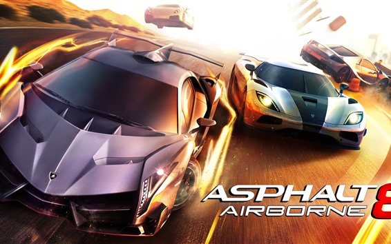 Wallpaper Asphalt 8: Airborne