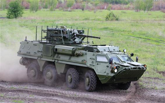 Papéis de Parede Transportador de pessoal blindado BTR-4