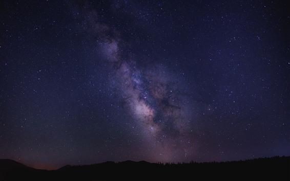 Fondos de pantalla Hermosa estrellada, cielo, noche