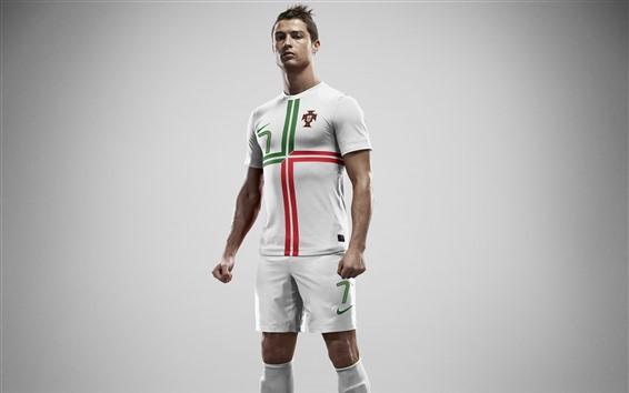 Fond d'écran Cristiano Ronaldo, star du football
