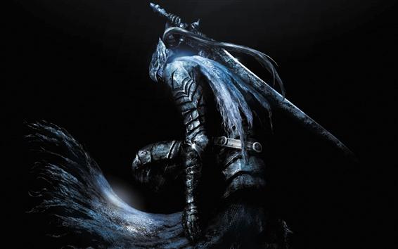 Wallpaper Dark Souls, game art picture