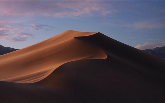 Papéis de Parede Deserto, Duna, paisagem da natureza