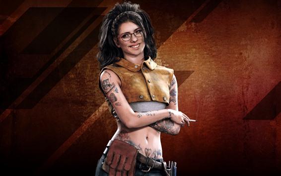 Fondos de pantalla Devil May Cry 5, chica del tatuaje