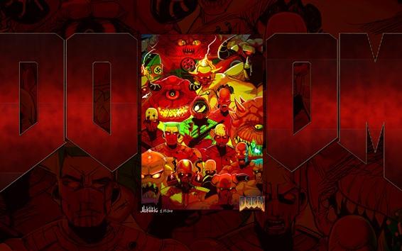 Fondos de pantalla Doom, imagen del arte del juego