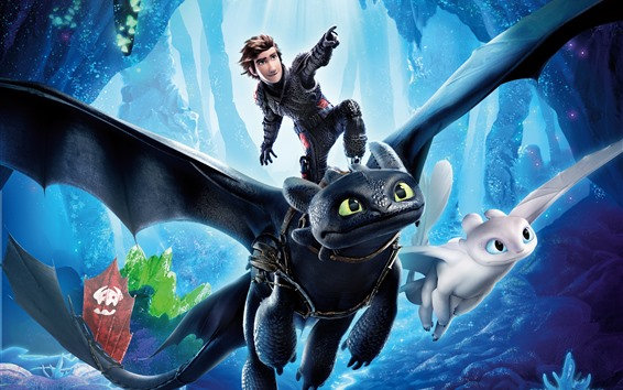 Wallpaper How to Train Your Dragon 3