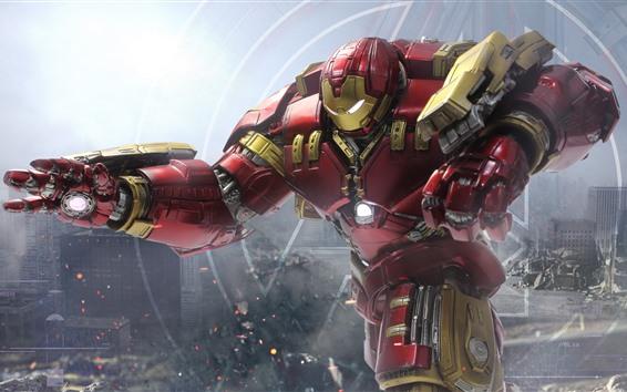 Wallpaper Iron Man, Hulkbuster