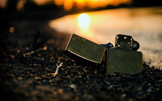 Fondos de pantalla Más ligero, puesta de sol