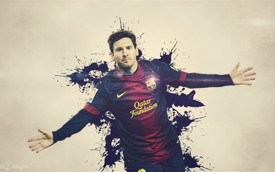 Wallpaper Lionel Messi 02