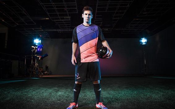Fondos de pantalla Lionel Messi, fútbol