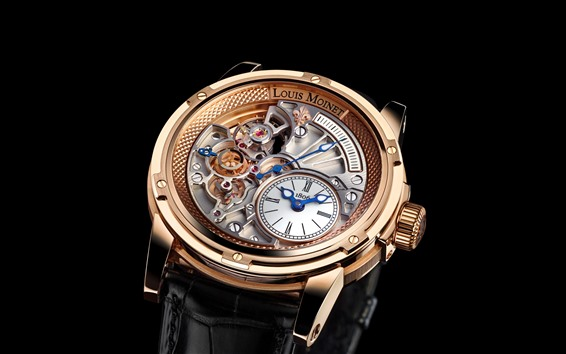 Wallpaper Louis Moinet wrist watch