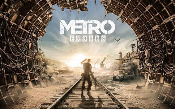 Wallpaper Metro Exodus, 4A Games