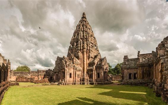 Fond d'écran Parc historique de Phanom Rung, temple, Thaïlande