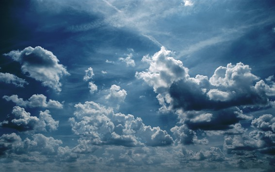 Fondos de pantalla Cielo, nubes, naturaleza