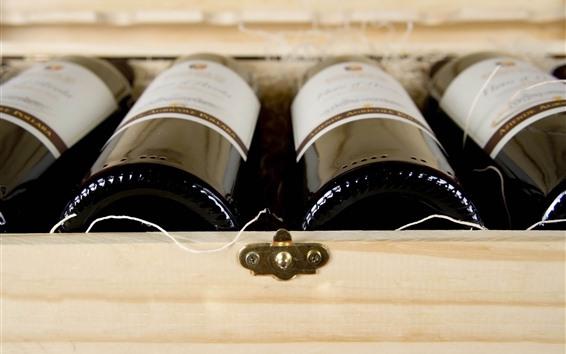 Fondos de pantalla Algunas botellas de vino