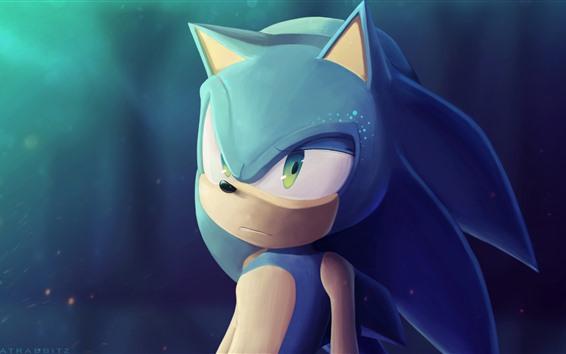 Papéis de Parede Sonic the Hedgehog, imagem de arte