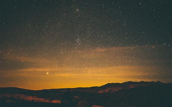 Fondos de pantalla Estrellada, noche, estrellas, cielo